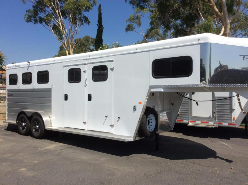 2021 Trails West SIERRA 3  Horse Trailer