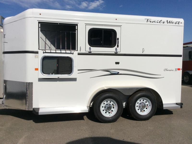 2021 Trails West Classic 2 Horse Trailer