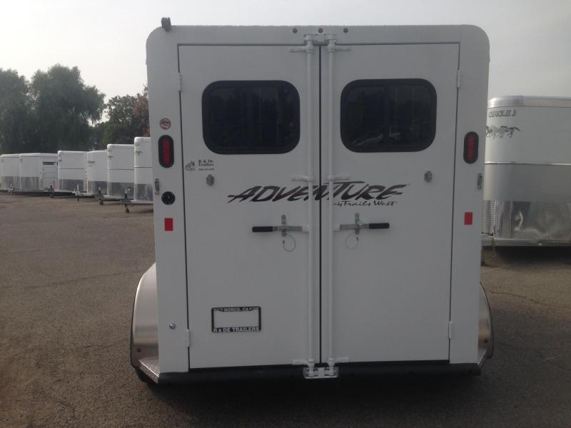 2021 Trails West 2 Horse Bp Trailer
