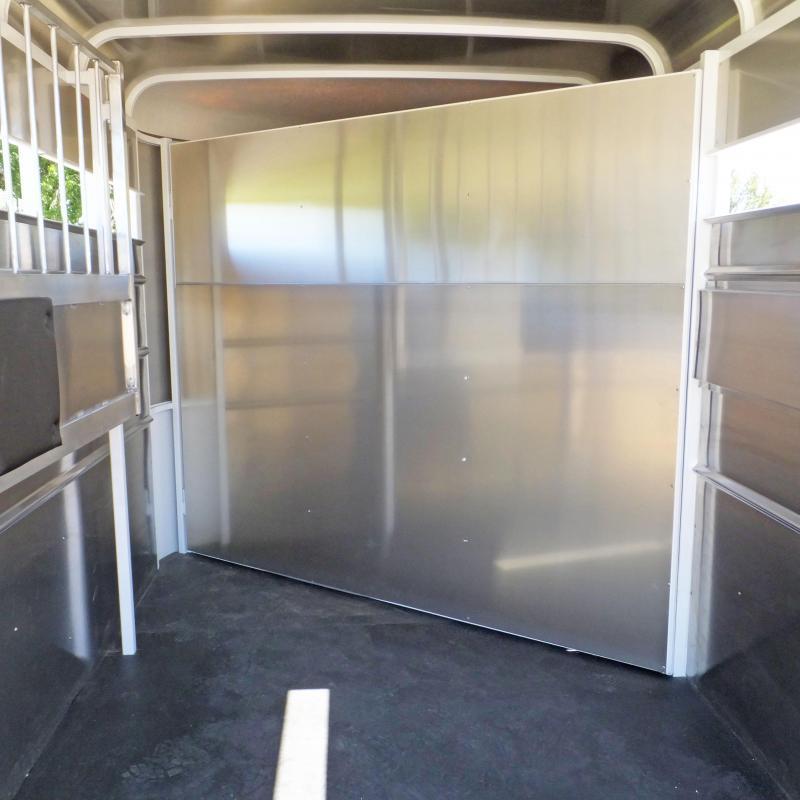 2021 Maverick Steel/Aluminum 2 Horse Trailer