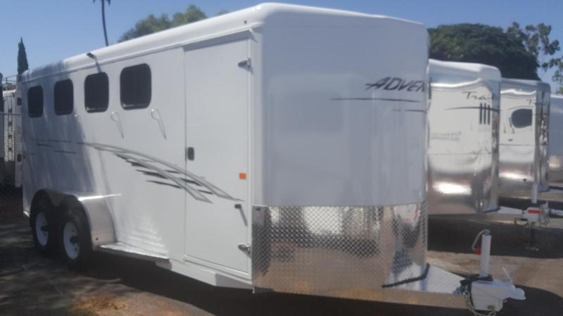 2021 Trails West ADVENTURE  4 Horse Trailer
