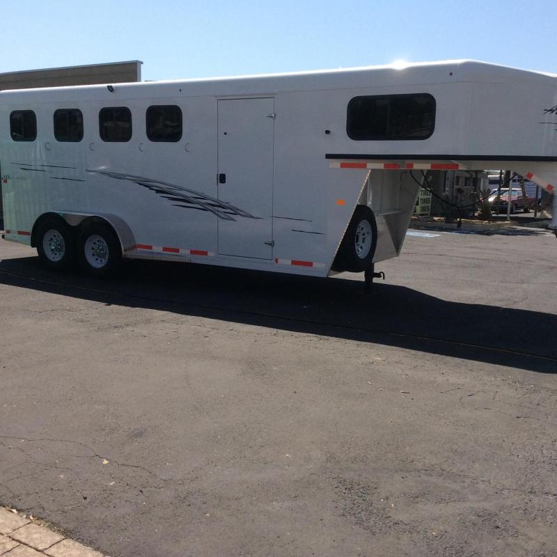 2021 Trails West Adventure MX  4 Horse Trailer (GN)
