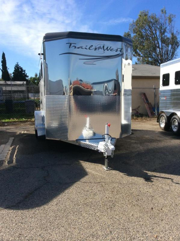 2020 Trails West Sierra Select   2 Horse Trailer