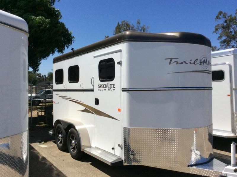 2021 Trails West Manufacturing Classic 2 Horse Trailer