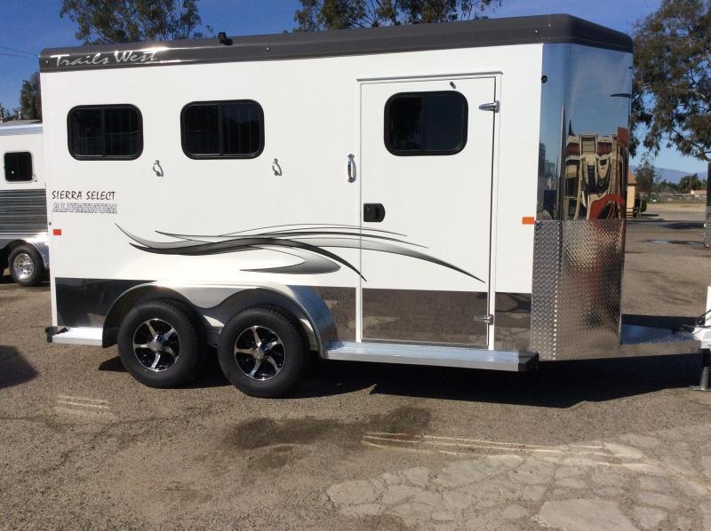 2019 Trails West Sierra Select   2 Horse Trailer