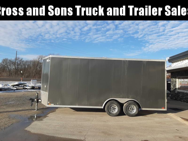 2021 Cross Trailers 818TA Car / Racing Trailer