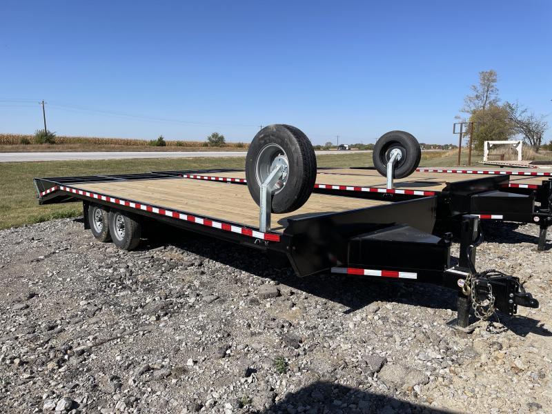 2022 Midsota STO-24 Flatbed Trailer Bumper Hitch