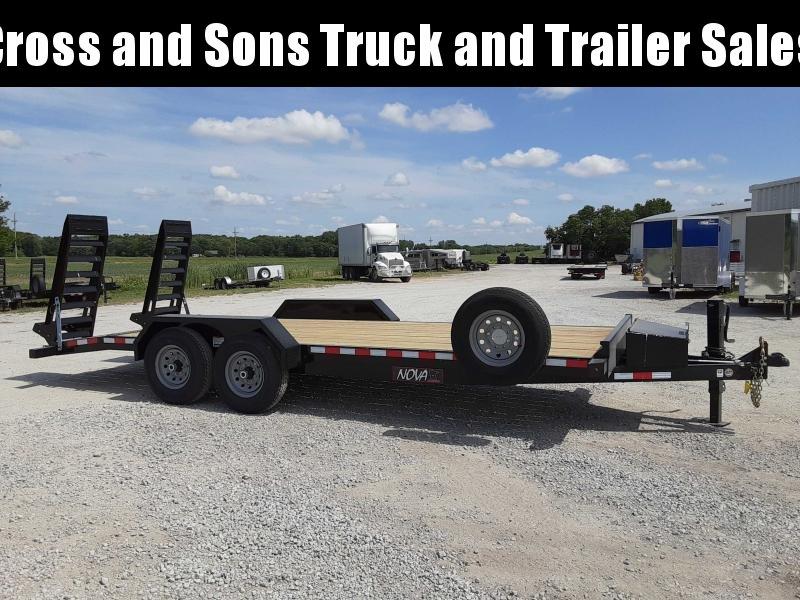 2021 Midsota ET 8220 Equipment Trailer