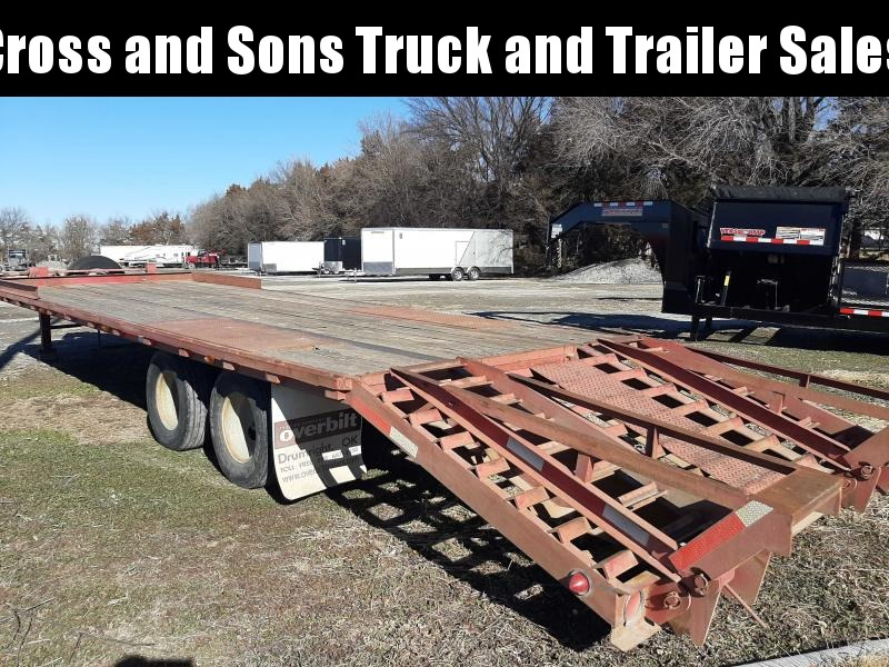 2000 Other DECKOVER Equipment Trailer