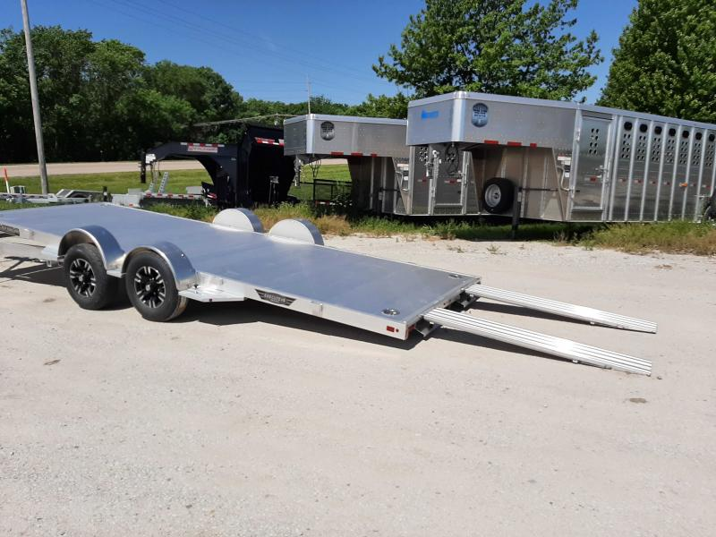 2021 Aluma 8220H-LP-TILT Car / Racing Trailer