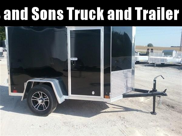 2020 Cross Trailers 58SA Enclosed Cargo Trailer