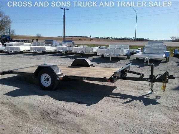2020 Midsota TB14SA Single Axle Equipment Trailer