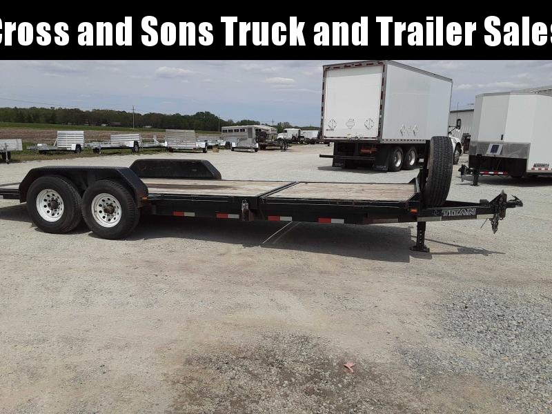 2013 Titan Trailers TB-22 Equipment Trailer