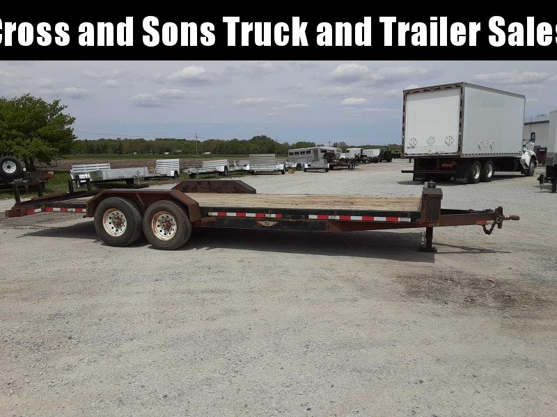 2014 H&H Trailers UF 22-2 Equipment Trailer