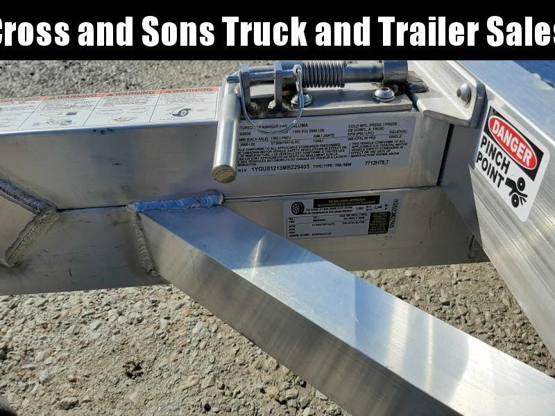 2021 Aluma 7712 H TILT Utility Trailer