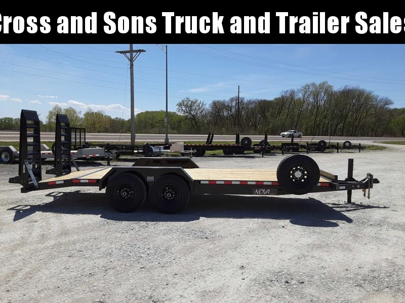 2021 Midsota ET 8220 Equipment Trailer