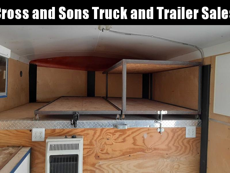 2007 H and H Trailer 8X20 Enclosed Cargo Trailer