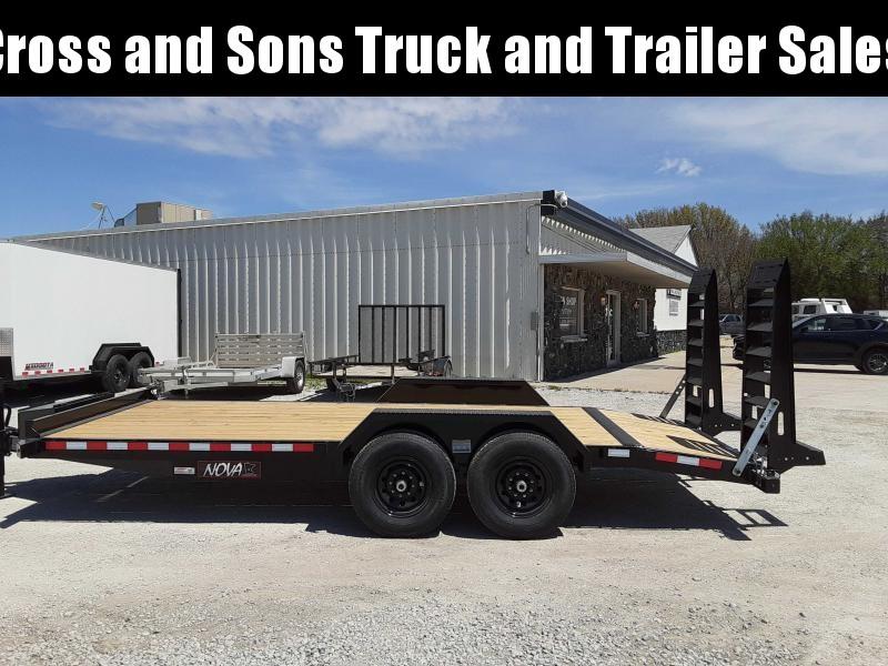 2021 Midsota ET 8218 Equipment Trailer