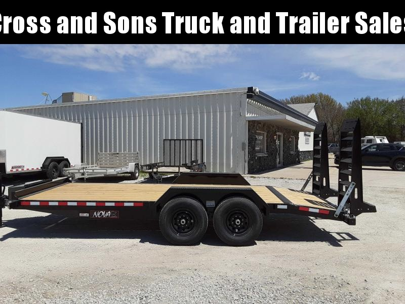 2021 Midsota ET 8218 Equipment Trailer