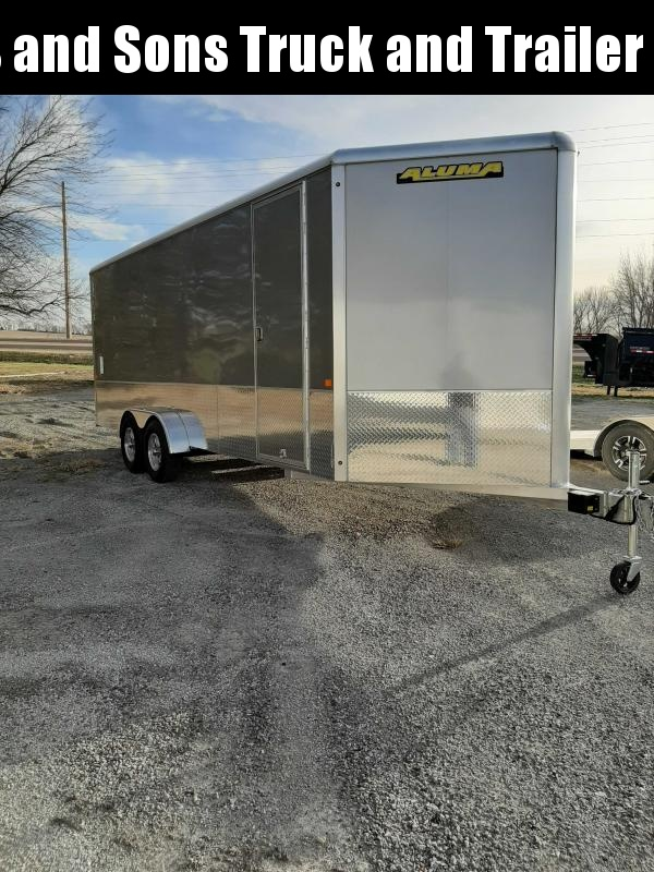 2021 Aluma AE720TA Enclosed Cargo Trailer
