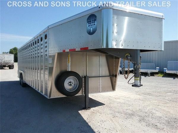 2020 Merritt 8 x 28 Livestock Trailer