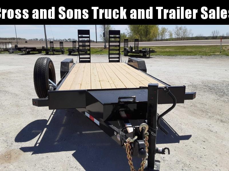 2021 Midsota ET8220 Equipment Trailer