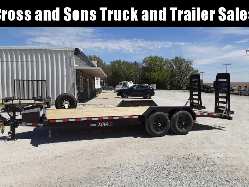 2021 Midsota ET8220 Equipment Trailer