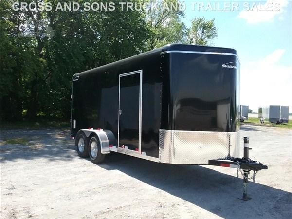 2019 Sharp 7 x 16 Enclosed Trailer
