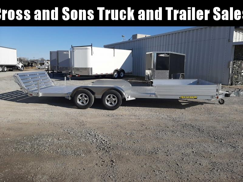 2021 Aluma 8120TA BT Utility Trailer