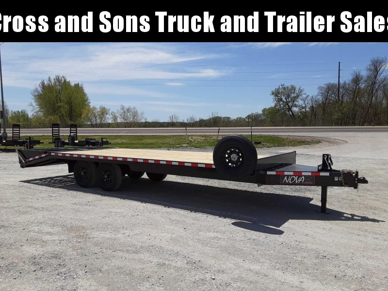 2021 Midsota ETO-24 Equipment Trailer