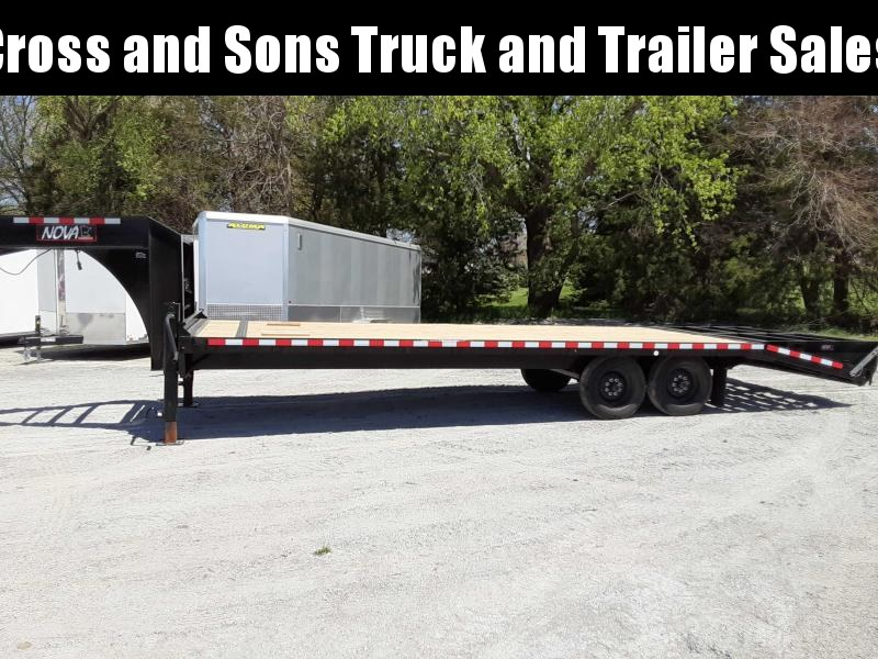 2021 Midsota ETO-26-GN Equipment Trailer