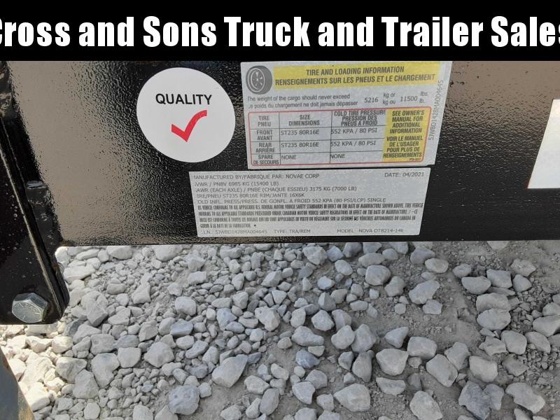 2021 Midsota 8214-14K Dump Trailer