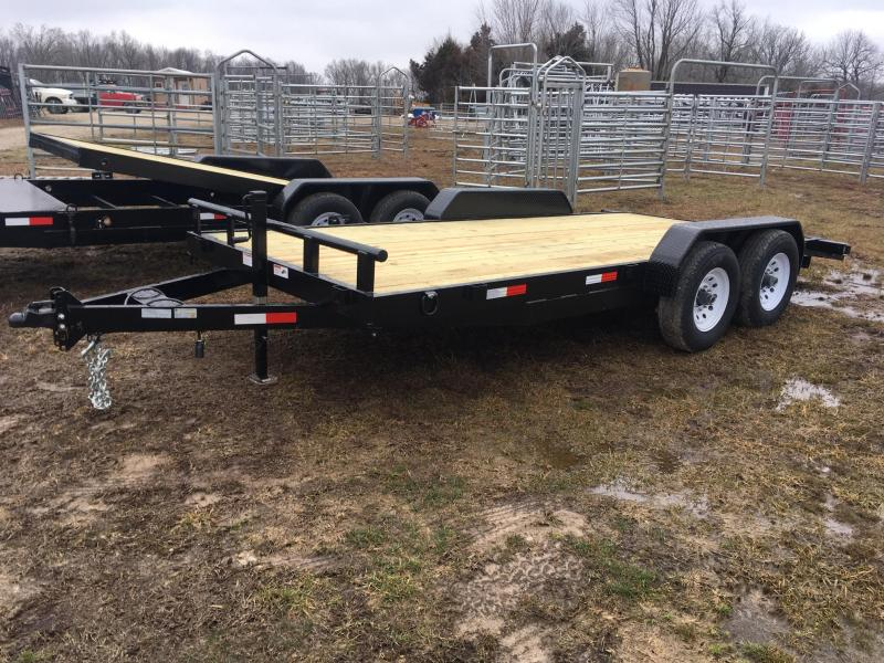 2020 STAG Trailers Car Hauler Flatbed Trailer