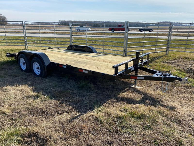 2021 STAG Trailers Car Hauler Flatbed Trailer