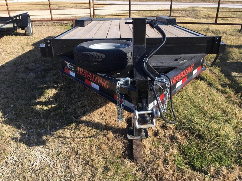 2019 Travalong Full width lowboy Flatbed Trailer