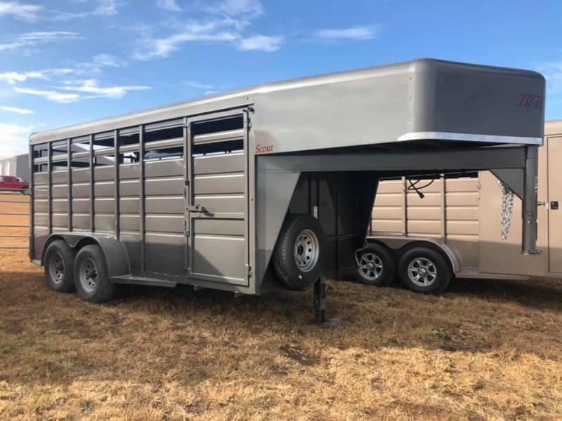 2019 Travalong Scout Livestock Trailer