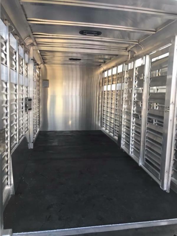 2018 Kiefer Built Stock Combo Livestock Trailer