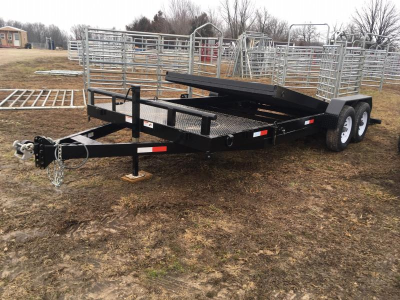 2021 STAG Trailers Tilt Equipment Trailer