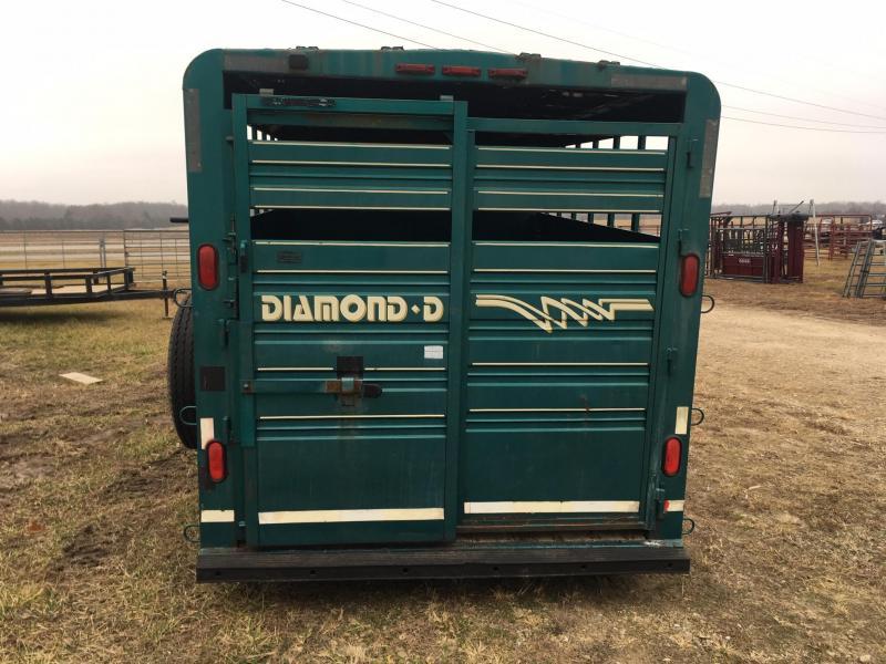 1994 Diamond D Gooseneck Livestock Trailer