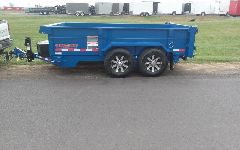 2018 Midsota 7X12 HV-12 Dump Trailer