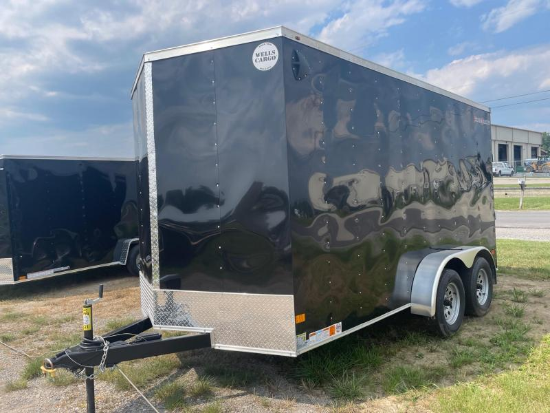 2021 Wells Cargo 7x14 7K Enclosed Cargo Trailer