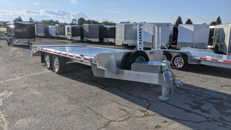 2021 EBY 20' Deckovrer Equipment Trailer