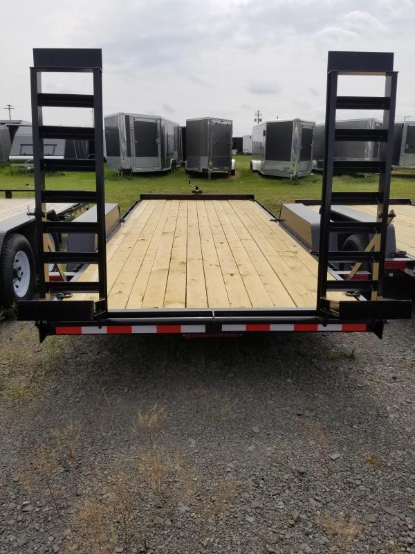 2020 Holmes 6-10x18 10K Equipment Hauler Equipment Trailer
