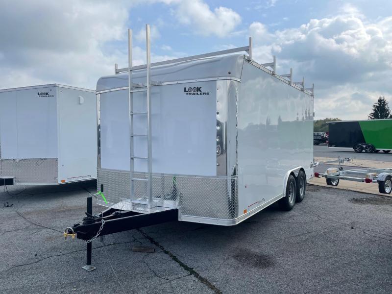 2022 Look Trailers 8.5x16 10K LXT Contractor Enclosed Cargo Trailer