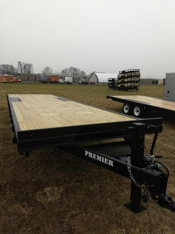 2019 Premier Trailers Inc. 30' 14K Deck-Over Equipment Trailer