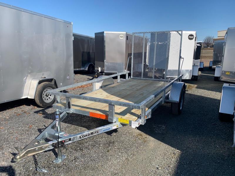2020 Load Rite 5.5x11 3K Galvanized Utility Trailer