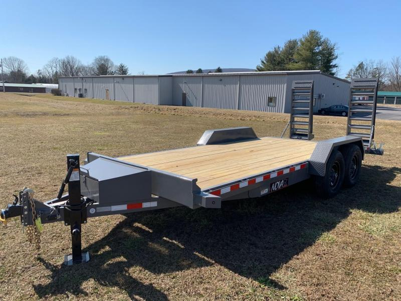 2020 Midsota Nova 15 Deck/3ft Beavertail Equipment Trailer