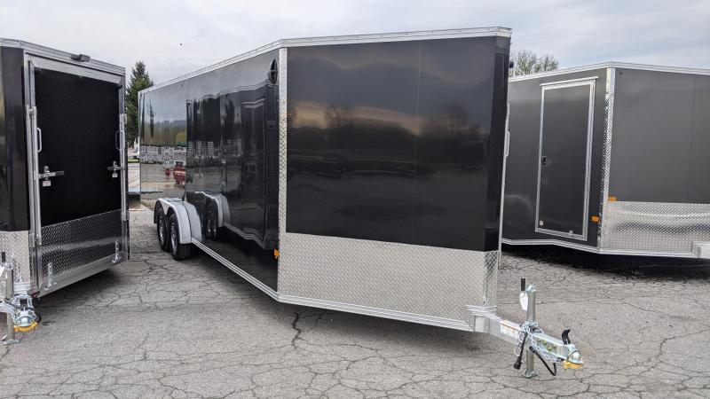 2021 Mission 7.5x24 Snowmobile Trailer