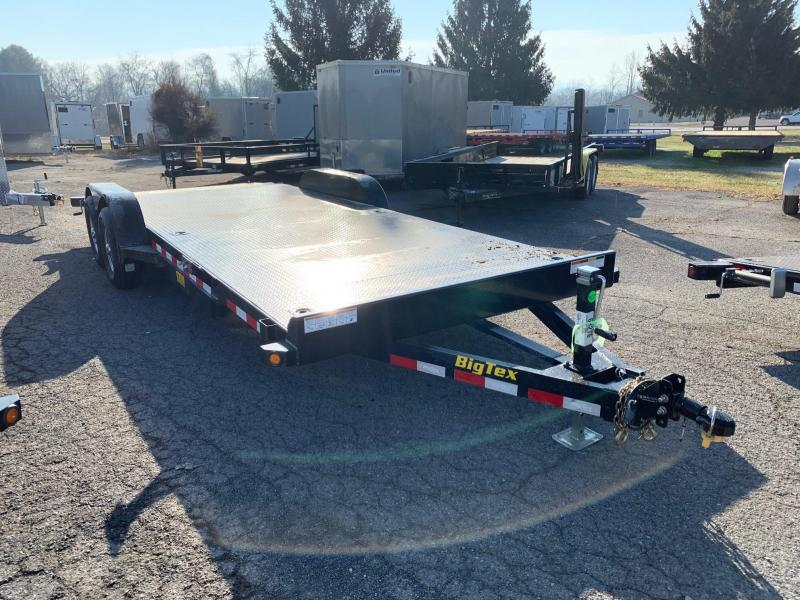 2020 Big Tex Trailers 7x20 10K Steel Deck Car / Racing Trailer