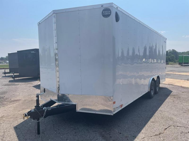 2022 Wells Cargo 8.5x20 10K Car Hauler Enclosed Cargo Trailer